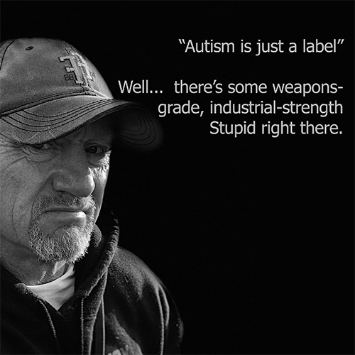 autism is just a label