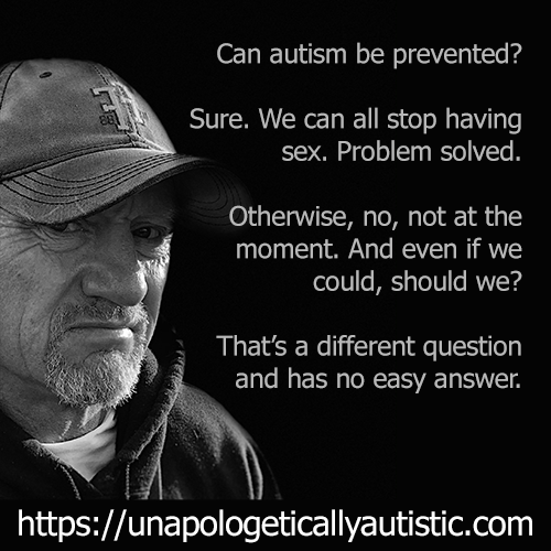 can autism be prevented