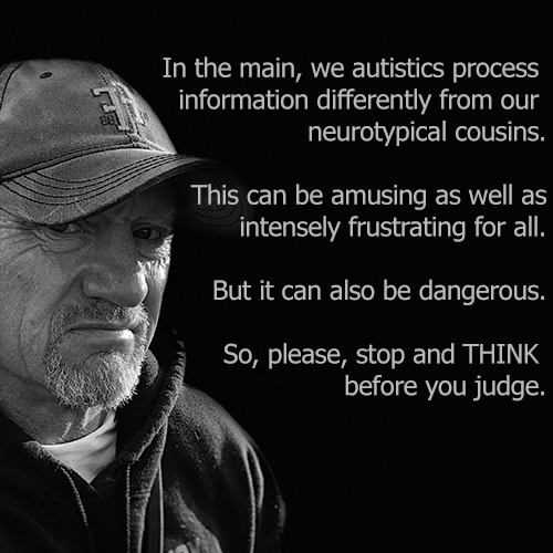 how autistics process information differently